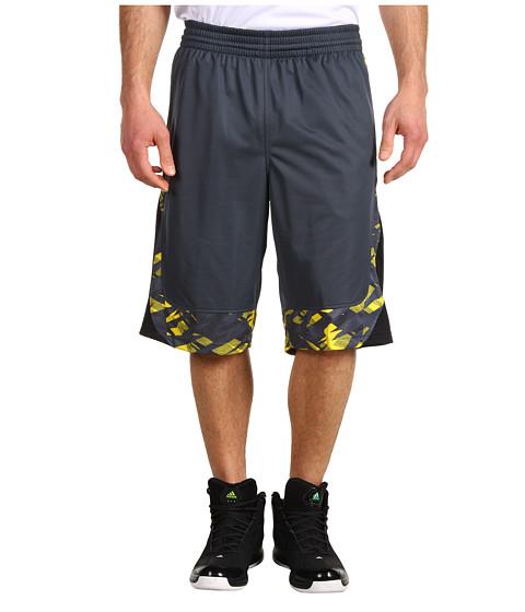 Pantaloni adidas - Edge Camo Short - Dark Onix/Black