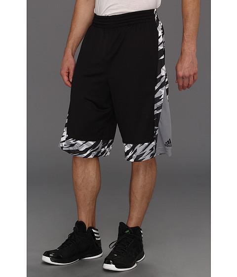 Pantaloni adidas - Edge Camo Short - Black/Tech Grey 2