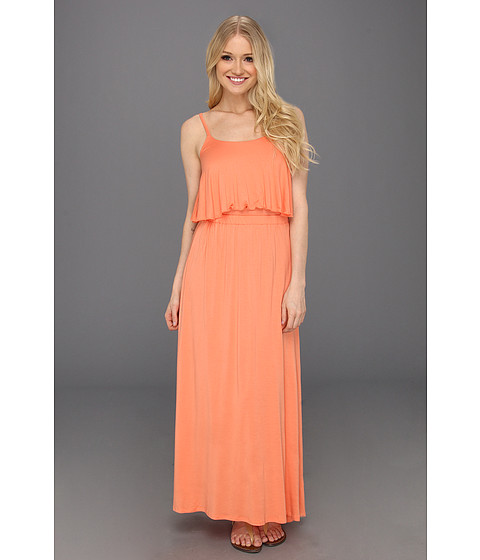 Rochii Type Z - Magie Open Back Maxi Dress - Peach