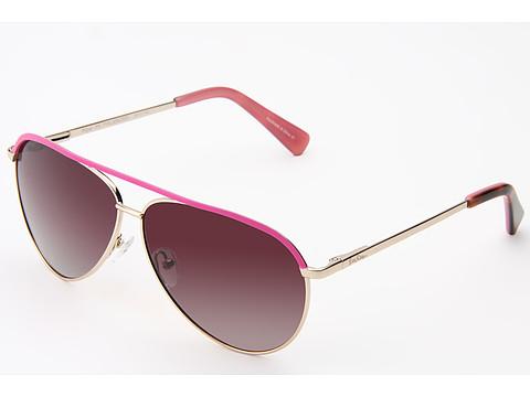 Ochelari Lilly Pulitzer - Piper (Polarized) - Gold/Hibiscus Pink/Gradient Smoke to Pink Polarized
