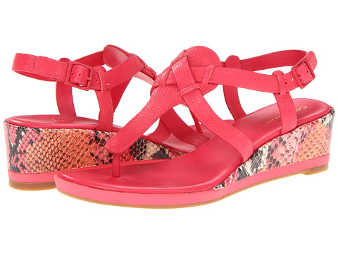 Sandale Cole Haan - Paley Mid Wedge - Punch/Punch Snake Print