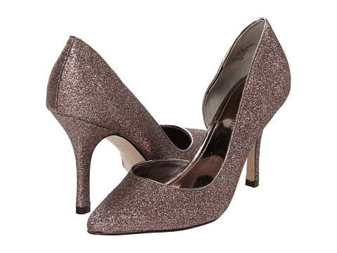 Pantofi Anne Klein New York - Zya - Black/Pewter Glitter
