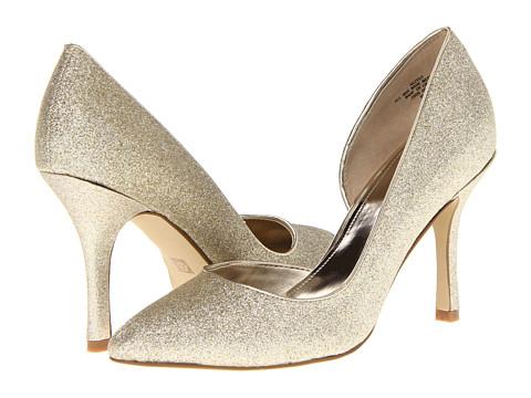 Pantofi Anne Klein New York - Zya - Light Gold Glitter