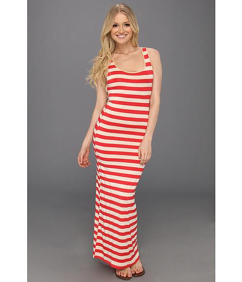 Rochii Type Z - Alisa Lace Back Maxi Dress - Orange