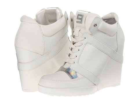 Adidasi Nine West - Elzorro - White Multi Fabric