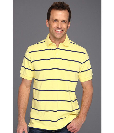 Tricouri IZOD - S/S Cotton Pique Polo Slim Fit - Goldfinch