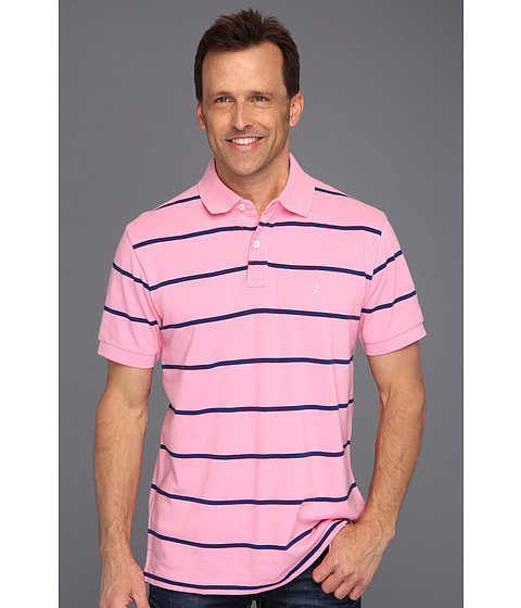 Tricouri IZOD - S/S Cotton Pique Polo Slim Fit - Sachet Pink