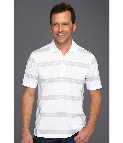Tricouri IZOD - S/S Stripe Polo Performance Golf Shirt - Bright White