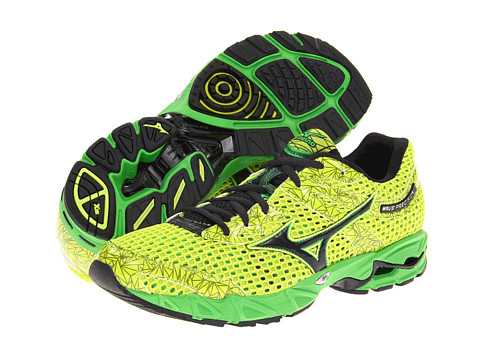 Adidasi Mizuno - Waveî Precision 13 - Lime Punch/Anthracite/Classic Green