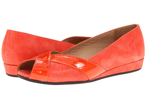 Balerini French Sole - Indy - Orange Naplak