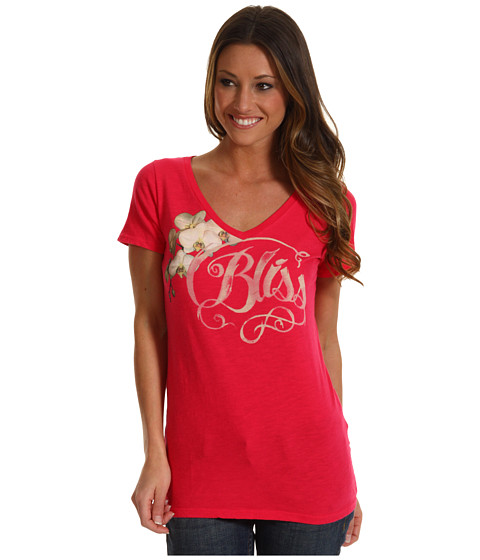 Bluze Lucky Brand - Bliss Tee - Passion Pink