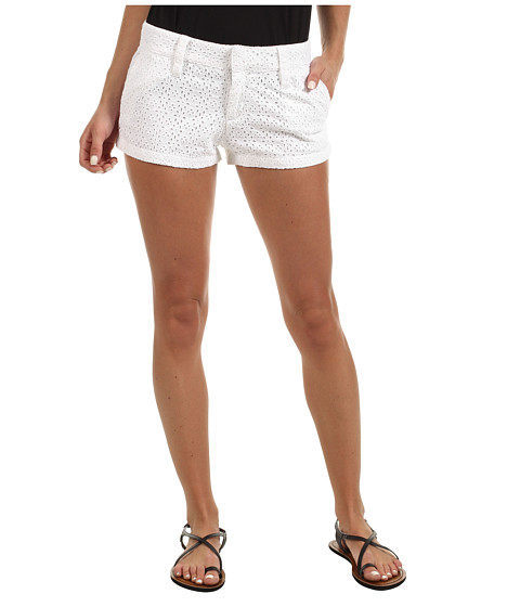 Pantaloni Hurley - Lowrider Lace Novelty Short (Juniors) - White