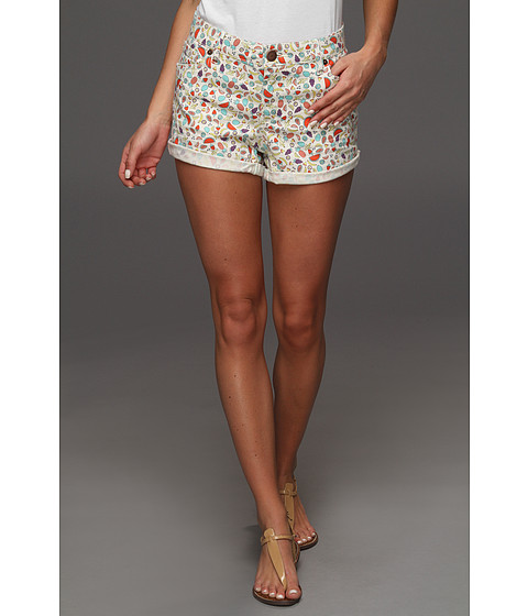 Pantaloni BCBGeneration - Fruit Print Jackson Short - Cream Combo
