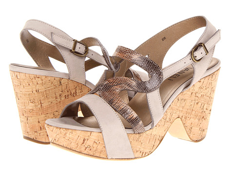 Sandale Vaneli - Eter - Perla Soft Nubuck/Multi Taupe Mally Ort/Ant Gold