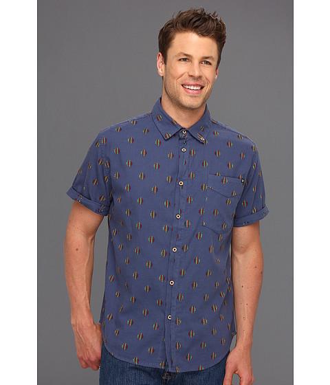 Camasi Insight Apparel - Girgis S/S Woven Shirt - Artline Blue