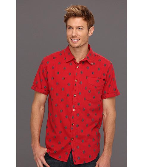 Camasi Insight Apparel - Girgis S/S Woven Shirt - Hazard