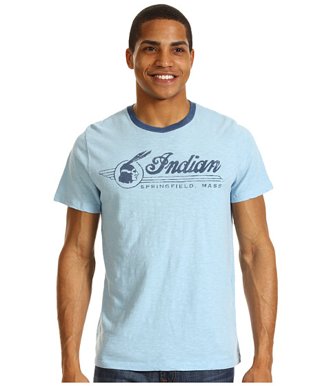 Tricouri Lucky Brand - Indian 257th Tee - Spring Blue