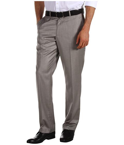 Pantaloni Perry Ellis - Textured Suit Pant - Pewter Heather