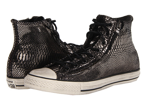 Adidasi Converse - Chuck Taylor All Star Double Zip Hi - Black/Turtledove