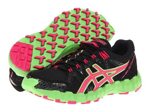 Adidasi ASICS - GEL-FujiTrainerâ⢠2 - Black/Pink/Green