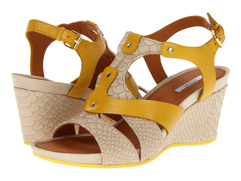 Sandale Geox - D Sophie 1 - Beige/Yellow