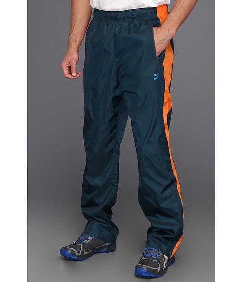 Pantaloni PUMA - T7 Wind Pant - Midnight Navy/Golden