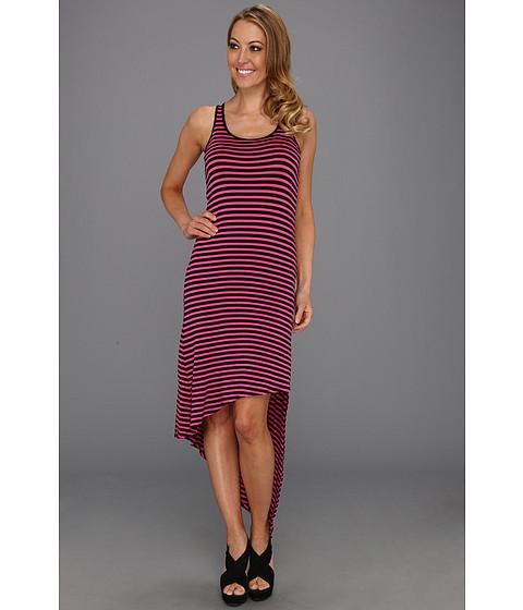 Rochii Michael Kors - Jardin Sleeve Asymmetrical Dress - Neon Pink