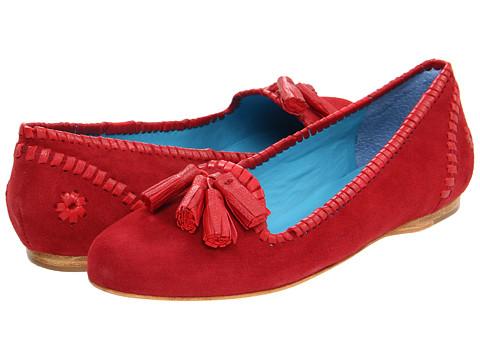 Pantofi Jack Rogers - Worth - Red Suede