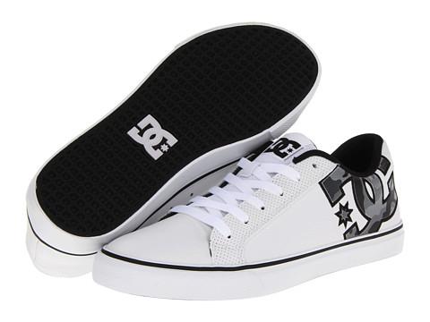 Adidasi DC - Capital - White/Black