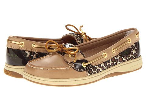 Pantofi Sperry Top-Sider - Angelfish - Linen/Sparkle Leopard