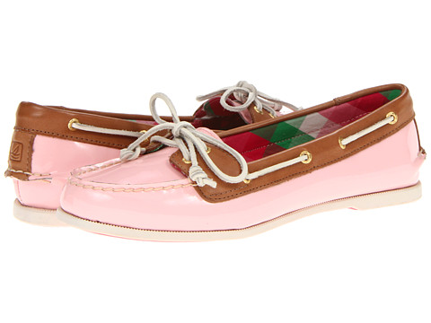 Pantofi Sperry Top-Sider - Audrey - Light Rose Patent/Cognac