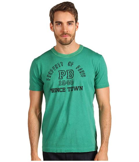 "Tricouri Pierre Balmain - Short Sleeve Crew \""Prince Town\"" Tee - Green"