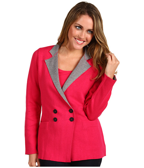 Geci NIC+ZOE - Out the Door Knit Jacket - Raspberry