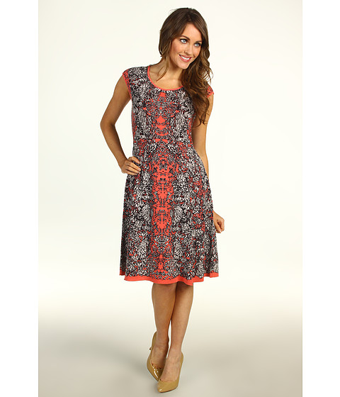 Rochii NIC+ZOE - Peek-A-Boo Peeking Out Dress - Multi