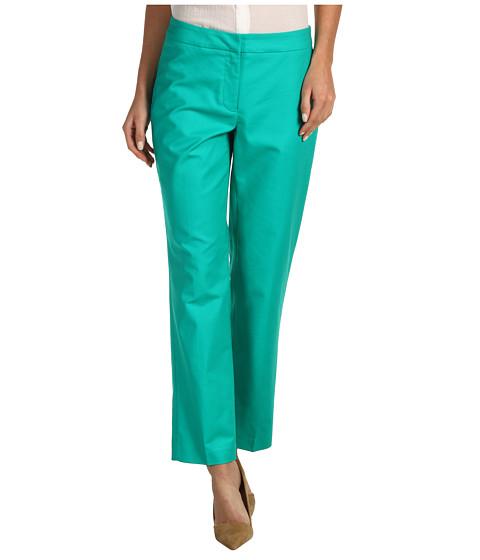 Pantaloni NIC+ZOE - Aquatic Polished Stretch Slim Ankle Pant - Chives