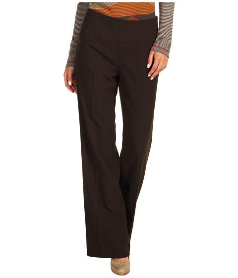Pantaloni NIC+ZOE - Drapey Pant - Peppercorn