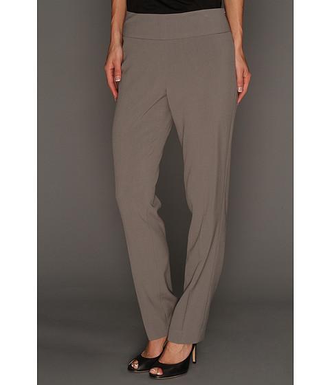 Pantaloni NIC+ZOE - Fresh Side Zip Slim Pant - Smoke