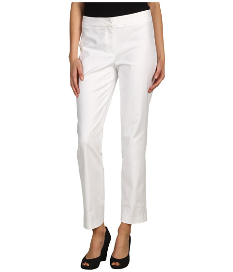 Pantaloni NIC+ZOE - Polished Stretch Slim Pant - Milk White