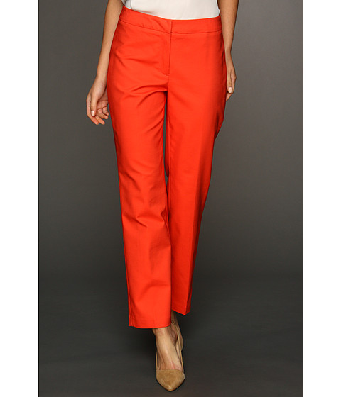 Pantaloni NIC+ZOE - Polished Stretch Slim Pant - Vermilion