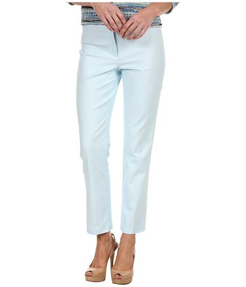 Pantaloni NIC+ZOE - Polished Stretch Slim Pant - Ice Blue