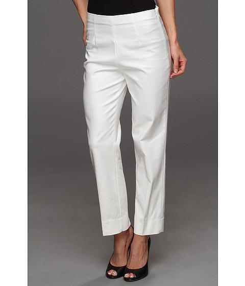 Pantaloni NIC+ZOE - The Perfect Pant - Side Zip Ankle - Milk White