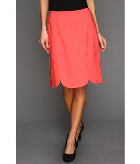 Fuste NIC+ZOE - Peek-A-Boo Tulip Skirt - Flamingo