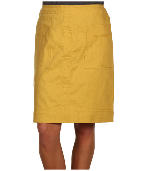 Fuste NIC+ZOE - Stretch Linen Short Skirt - Honey Mix