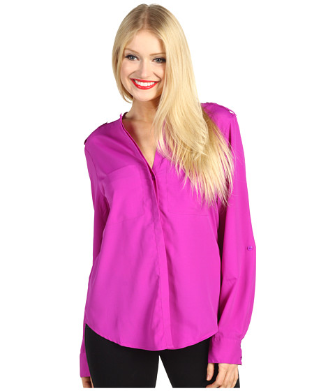 Bluze Sanctuary - Le Cafe Shirt - Vivid Violet