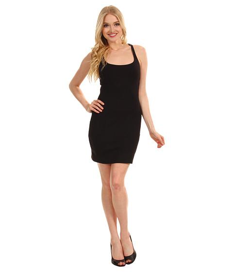 Rochii Susana Monaco - Racerback Mini Dress - Black