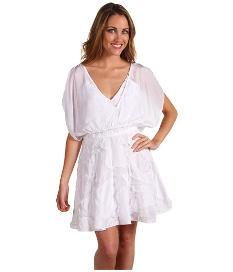 Rochii Miha - Bardot Dress - White