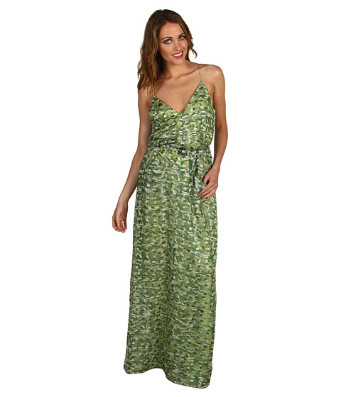 Rochii Miha - Marcos Dress - Green Multi