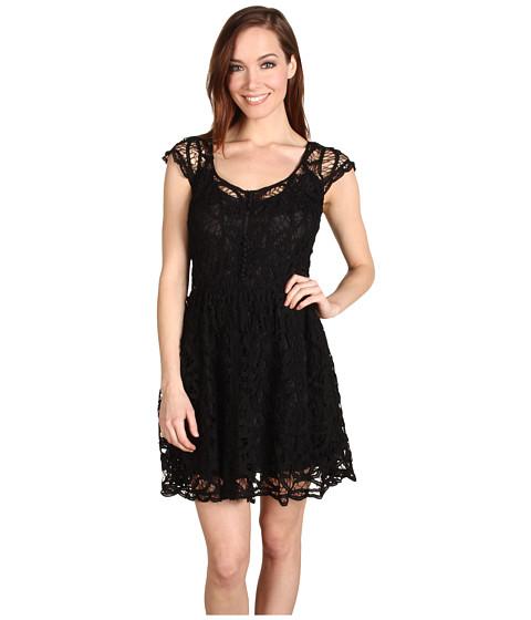Rochii Miha - Rosamond Lace Dress - Black