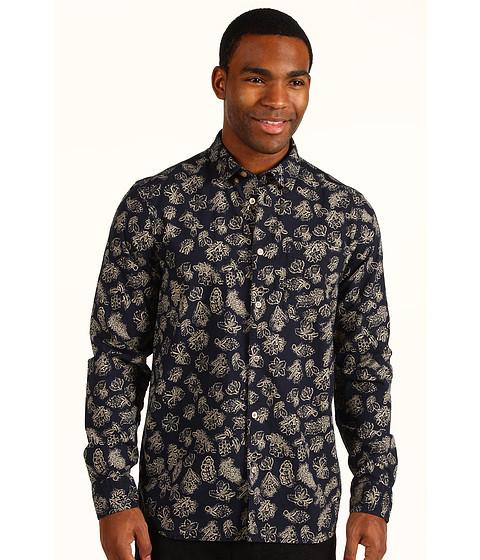 Camasi WeSC - Rickard L/S Shirt - Navy