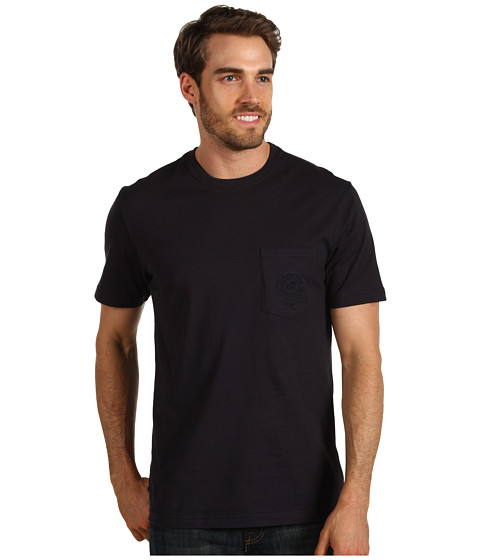 Tricouri Caribbean Joe - Island Solid Pocket Tee - Black